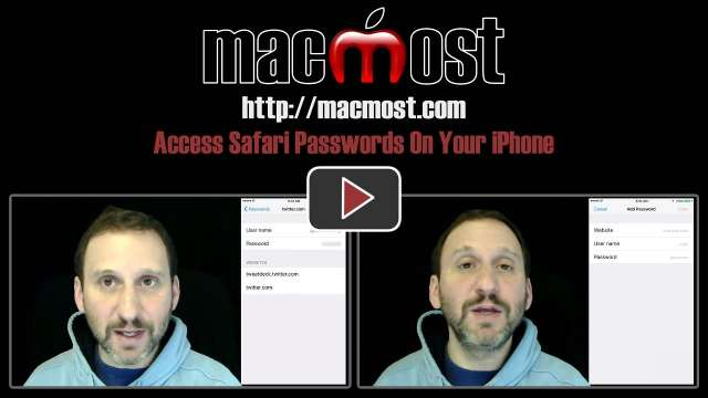 Access Safari Passwords On Your iPhone