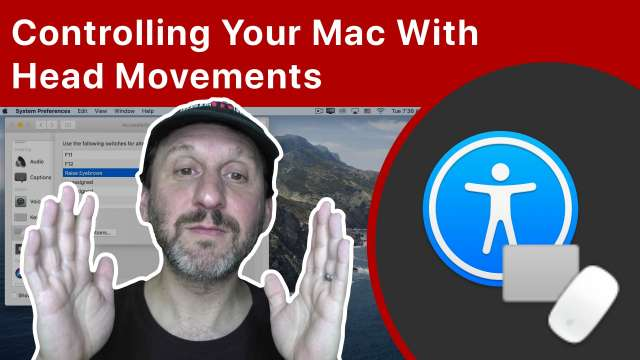 Controlling Your Mac With Head Movements