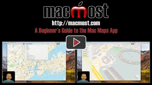 A Beginner's Guide to the Mac Maps App