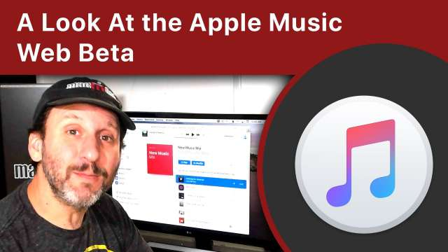 A Look At the Apple Music Web Beta