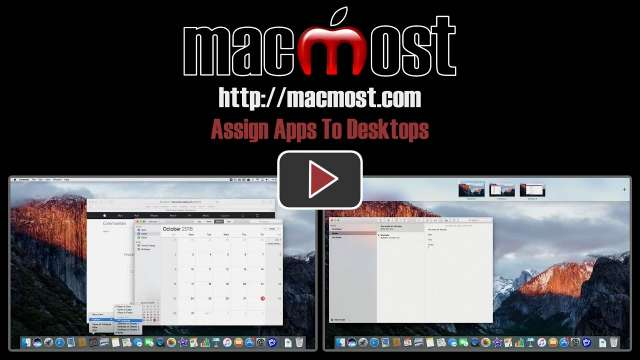 Assign Apps To Desktops