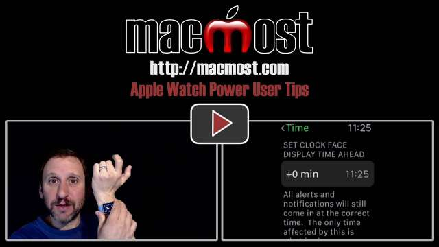 Apple Watch Power User Tips