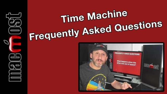 Frequently Asked Questions About Time Machine