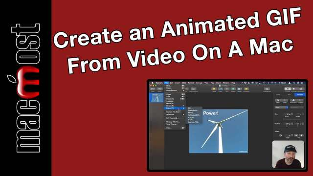 Create an Animated GIF From Video On A Mac