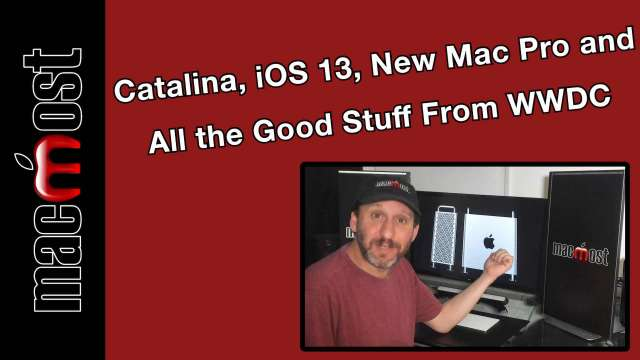 MacMost Now 119: How to Make a Video Podcast