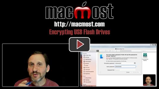 Encrypting USB Flash Drives