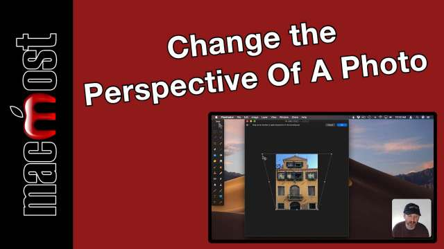 Change The Perspective Of A Photo