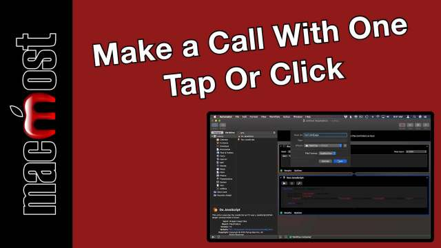 Create a Button On Your Mac or iPhone To Make a Call With One Tap Or Click