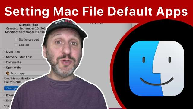 How To Set the Default App For Opening Files On a Mac