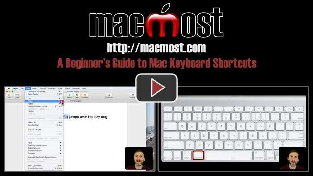 A Beginner's Guide to Mac Keyboard Shortcuts