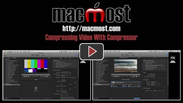 Compressing Video With Compressor