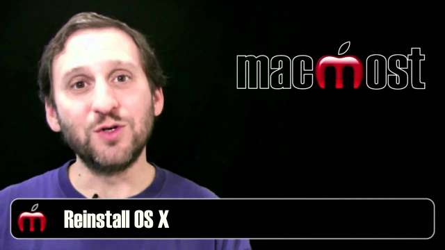 MacMost Now 499: Fixing Problems On Your Mac