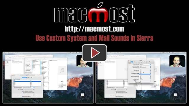 Use Custom System and Mail Alerts in Sierra