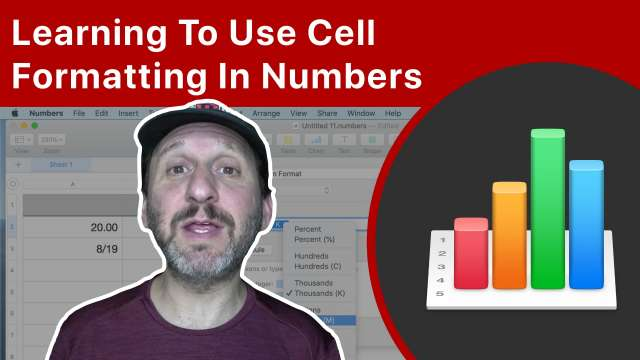 Learning To Use Cell Formatting In Mac Numbers