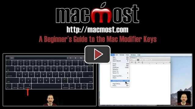A Beginner's Guide to Mac Modifier Keys