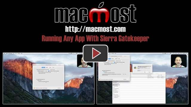 Running Any App With Sierra Gatekeeper