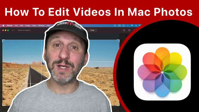 How To Edit Videos In Mac Photos