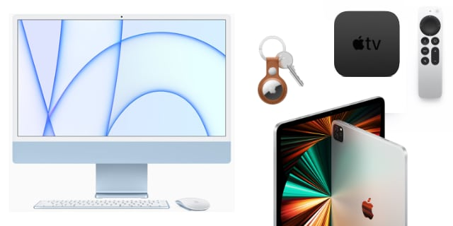 Apple Event: New M1 iMac and iPad Pro, AirTags