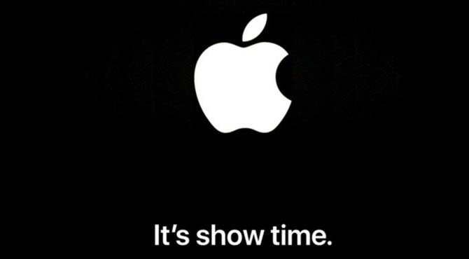 Apple special media event It's show time