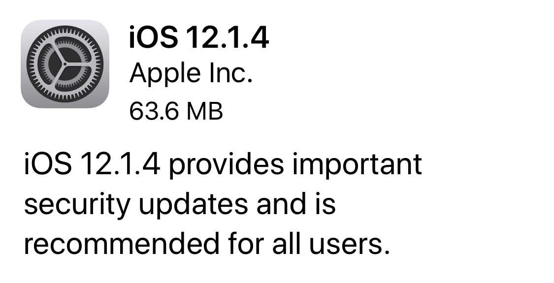 FaceTime Bug Update Released