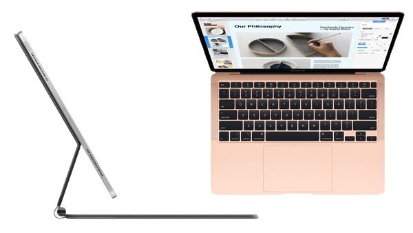 New MacBook Air, iPad Pro Plus Keyboard