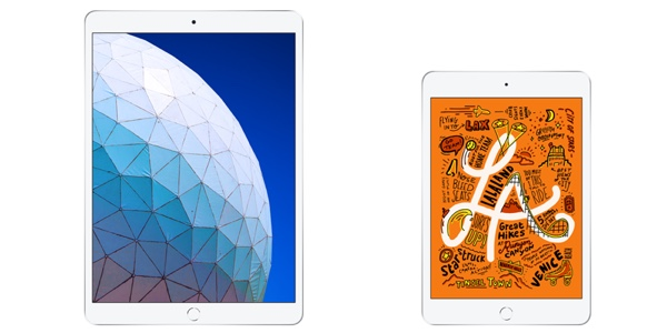 The new iPad Air and iPad mini