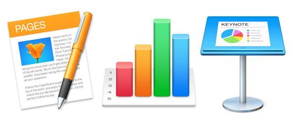 Pages, Numbers and Keynote