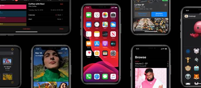 iOS 13 iPhone
